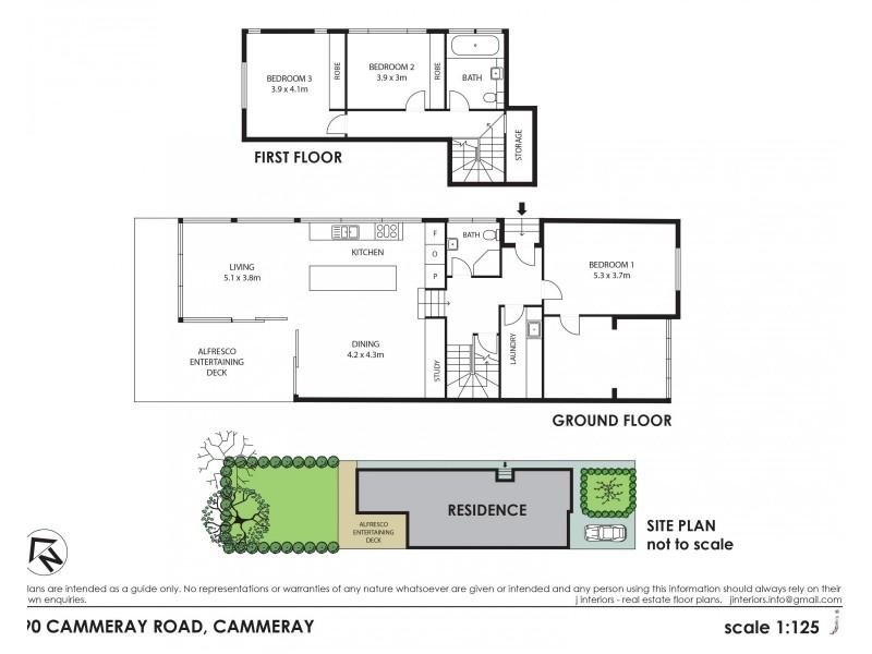 90 Cammeray Rd, Cammeray NSW 2062 Floorplan