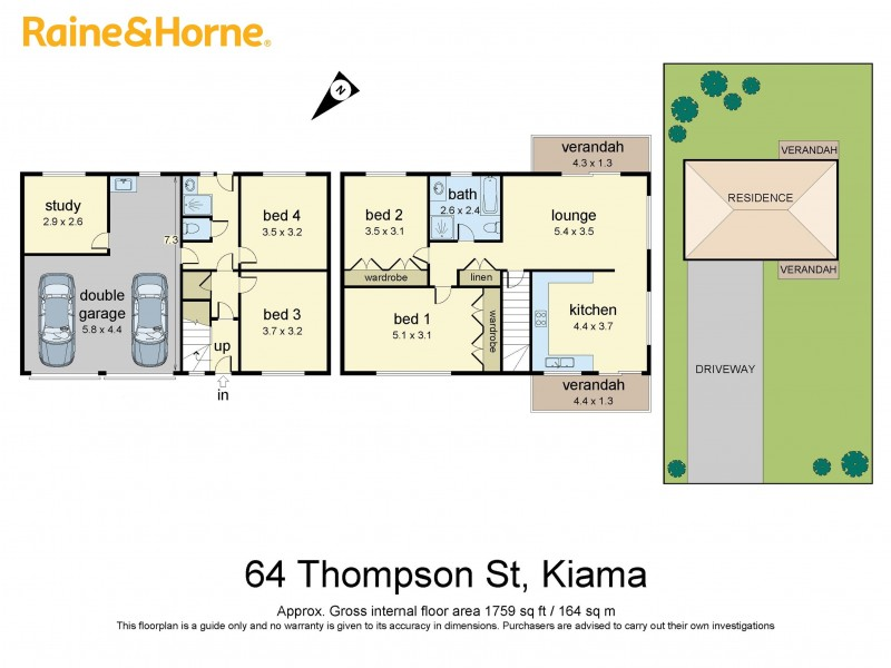 house floor plans with photos 64 thomson kiama nsw 2533 raine amp horne kiama sold 24141